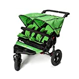 Out n About Nipper Double v4 Stroller Mojito Green