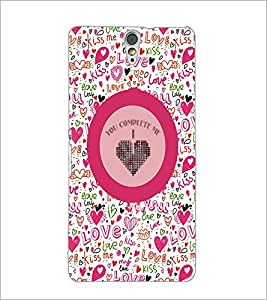 PrintDhaba Quote D-4167 Back Case Cover for SONY XPERIA C5 ULTRA (Multi-Coloured)