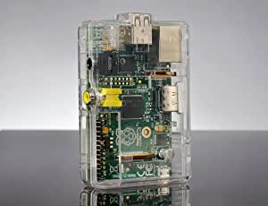 SB Housse / Coque de protection transparent pour Raspberry Pi