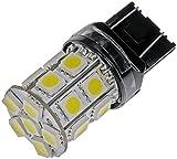 Dorman 7443W-SMD White LED Turn Signal Light Bulb, (Pack of 2)