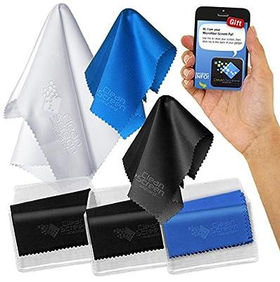 Clean Screen Wizard Microfiber Cloths