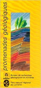 Carte géologique : Géologie pour le promeneur du parc