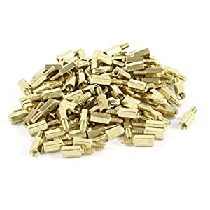 M3 M-F Male to Female Thread 4mm+6mm PCB Spacer Stand-off 10mm 100 Pcs