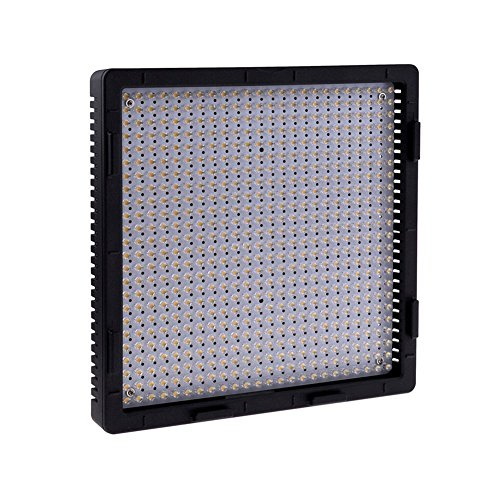 Iled Cn-576 Daylight Led Dimmable Video Light Panel + Np-F550 Battery (3Pcs) + Battery Charger (3Pcs)