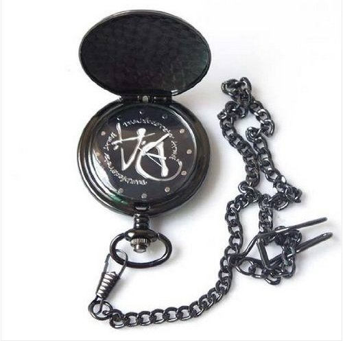 Harry Potter Hogwarts Magic Da Logo Pocket Watch Nib