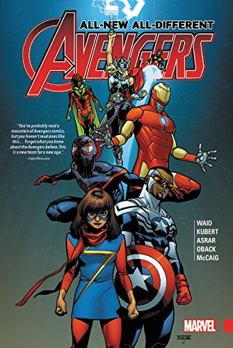 Book Cover: All-New, All-Different Avengers