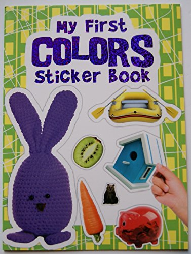 Children's My First Colors Sticker Book - 1