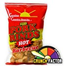 Fried Pork Rinds Hot BBQ 6 bags