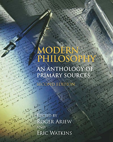 Modern Philosophy: An Anthology of Primary Sources, 2nd...