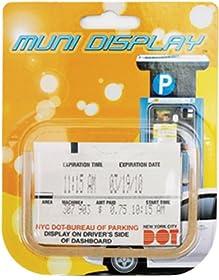 Muni Display Parking Slip Holder