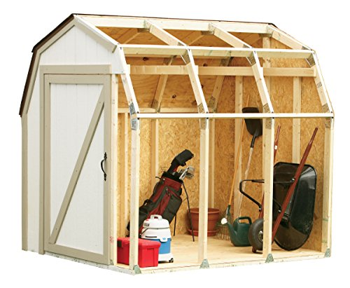 Hopkins 90190 2x4basics Shed Kit, Barn Style Roof (Outdoor Playhouse Plans compare prices)