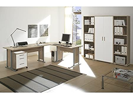 Office Line 7-tlg Eiche Sonoma