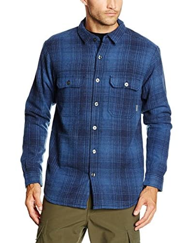 Columbia Camisa Hombre Windward Iii Overshirt Azul Medio