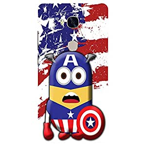 Star Minion - Mobile Back Case Cover For Huawei Honor 5X