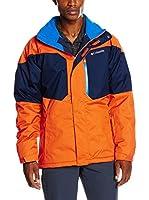 Columbia Chaqueta Alpine Action (Naranja / Azul Oscuro)
