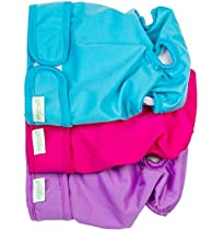Wegreeco Premium Dog Diapers Female(3 Pack) - Durable Reusable Dog Diapers for Pets(Medium)