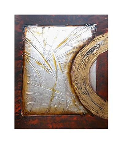 LegendArte Pintura al Óleo sobre Linezo Libro Sacro 50X60 Cm