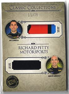 Buy 2013 Press Pass Showcase Classic Collections Memorabilia Silver #CCMRPM Richard Petty Motorsports Aric Almirola Marcos... by Doughboy'z SportsCards