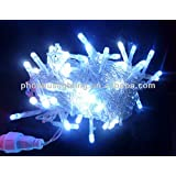 22 Meter White Color Still LED Cerial Diwali Light With Remote