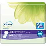 Tena Serenity Overnight Pads, Full Coverage, 120 Count