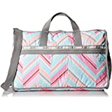 LeSportsac Large Weekender Handbag,Zig Zag,One Size