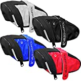 VeloChampion Slick Bike Seat Pack - Black, Blue, Red or White Saddle Bag