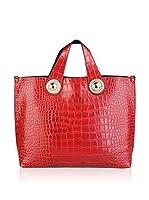 Versace Jeans Bolso asa de mano (Rojo)