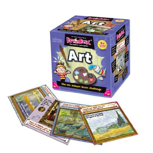 Imagen 3 de Green Board Games BrainBox Art- Juego de mesa (en inglés) [Importado de Gran Bretaña]