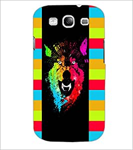 PrintDhaba Abstract Image D-5048 Back Case Cover for SAMSUNG GALAXY S3 (Multi-Coloured)