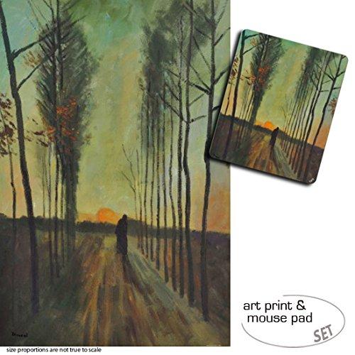 set-regalo-1-poster-impresion-artistica-120x80-cm-1-alfombrilla-para-raton-23x19-cm-vincent-van-gogh