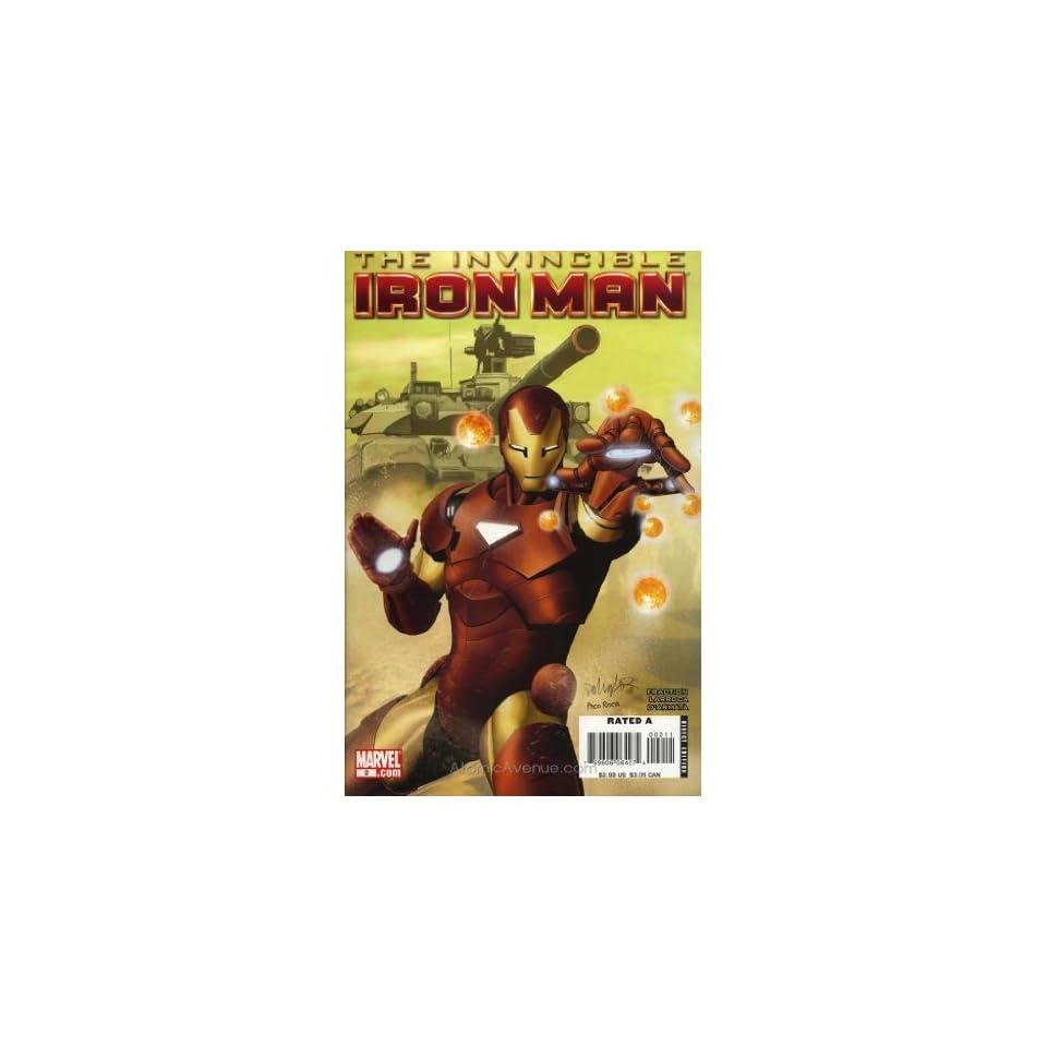 Invincible Iron Man (2008) #2 Books