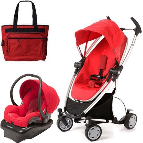 Quinny Cv080rlrtrv Zapp Xtra Travel System With Diaper Bag