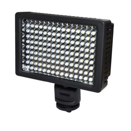 Zenness New Pro Hongdak Hd-160 Led Video Light For Dv Camcorder Camera Lighting Lamp Hd-160 Black