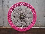ピンク 20インチ ※自転車ホイール リアホイール単品 シングルスピード ピストバイク ミニベロ