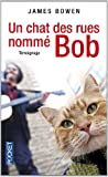 Un chat des rues nommé Bob James Bowen