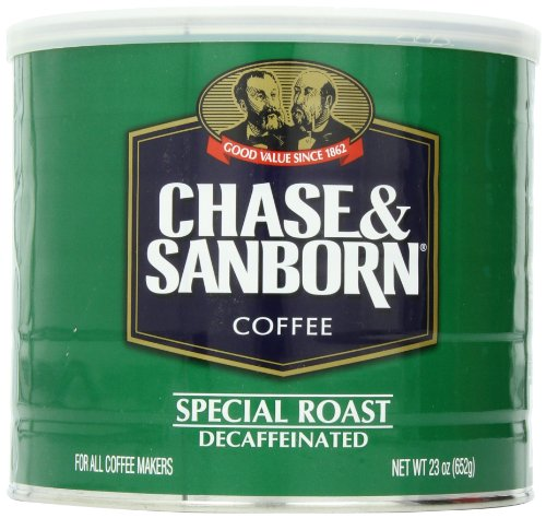 Chase & Sanborn Coffee Special Roast Decaf Ground, 23 Ounce (Chase And Sanborn Coffee compare prices)