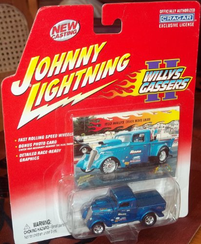 Johnny Lightning WILLYS GASSERS - 1933 Willys pickup Monte Grubb's