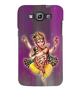 Tandava Ganesha Cute Fashion 3D Hard Polycarbonate Designer Back Case Cover for Samsung Galaxy Quattro Duos :: Samsung Galaxy Grand Quattro :: Samsung Galaxy Win Duos I8552