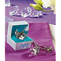Weddingstar 8769 Novelty Diamond Key Chain in Gift Favor Box