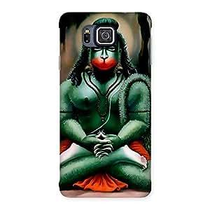 Hanuman Ji Back Case Cover for Galaxy Alpha