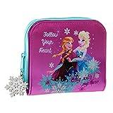 Disney Portefeuille Elsa Anna Frozen Porte Monnaie 12 cm Rose