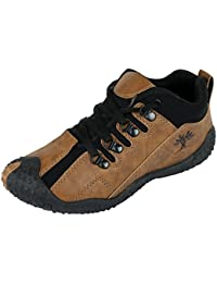 Maddy Top Quality Brown Black Sports Shoes For Men's In Various Sizes