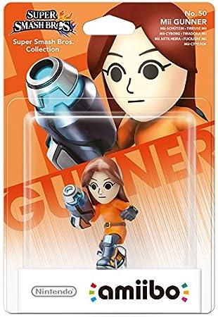Nintendo - Figura Amiibo Smash Mii Gunman (Tiradora Mii)