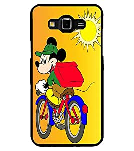 ColourCraft Lovely Cartoon Character Design Back Case Cover for SAMSUNG GALAXY GRAND 3