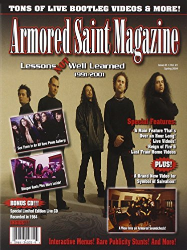 Armored Saint - Lessons Not Well Learned (Dvd+Cd)