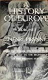 img - for A History of Europe Volume 1 book / textbook / text book