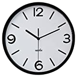 Hippih Modern Silent Quart Non-ticking Decoration Wall Clock- 10 Inches