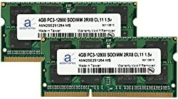 Adamanta 8GB (2x4GB) Laptop Memory Upgrade for HP EliteBook 8570p DDR3 1600Mhz PC3-12800 SODIMM 2Rx8 CL11 1.5v Notebook RAM
