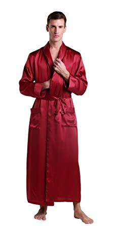 robe de chambre homme homme 100 soie pleine pleine longueur v tements et accessoires. Black Bedroom Furniture Sets. Home Design Ideas
