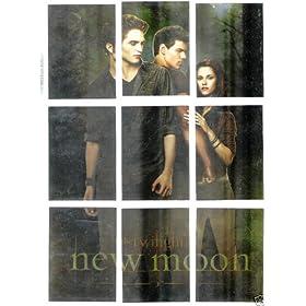 Twilight/New Moon Foil Trading Card Set (T-1/T-9)
